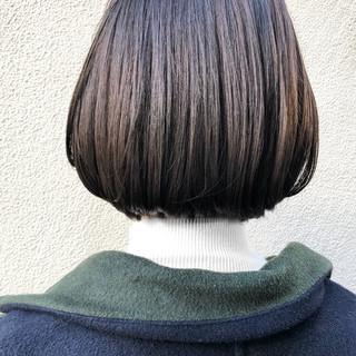 おしゃれ 切りっぱなしボブ ボブ 大人女子 ヘアスタイルや髪型の写真・画像