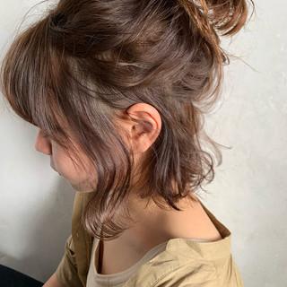 簡単ヘアアレンジ ボブ ヘアアレンジ 結婚式 ヘアスタイルや髪型の写真・画像 ヘアスタイルや髪型の写真・画像