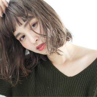ゆるふわ 外国人風 冬 外国人風カラー ヘアスタイルや髪型の写真・画像