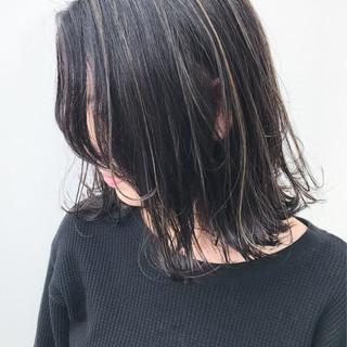 外ハネ アンニュイほつれヘア 女子力 ミディアム ヘアスタイルや髪型の写真・画像