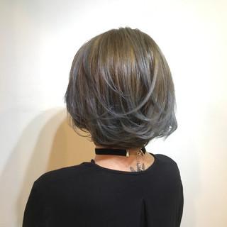 ナチュラル 木村カエラ マッシュ ボブ ヘアスタイルや髪型の写真・画像