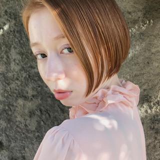 ショートボブ ミニボブ ボブ 透明感 ヘアスタイルや髪型の写真・画像