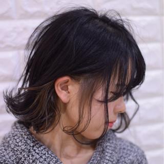 ボブ 成人式 デート ヘアアレンジ ヘアスタイルや髪型の写真・画像