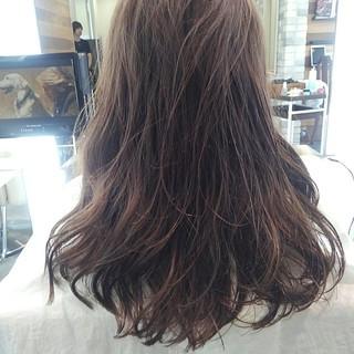 透明感 秋 ルーズ 前髪あり ヘアスタイルや髪型の写真・画像
