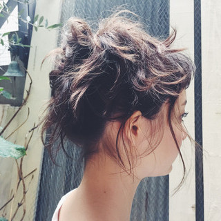 ゆるふわ 外国人風 ヘアアレンジ ストリート ヘアスタイルや髪型の写真・画像