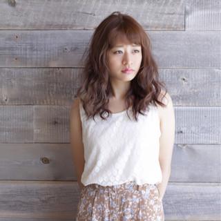 アウトドア 透明感 女子会 ヘアアレンジ ヘアスタイルや髪型の写真・画像