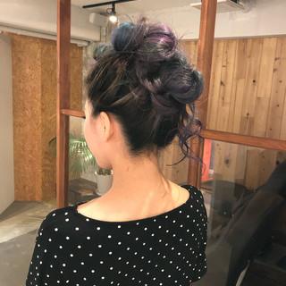 ロング 夏 エレガント ヘアセット ヘアスタイルや髪型の写真・画像
