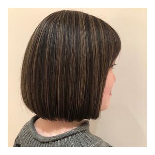 グレージュ 外国人風カラー ナチュラル ハイライト ヘアスタイルや髪型の写真・画像 ヘアスタイルや髪型の写真・画像