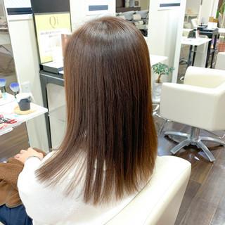ヌーディベージュ ヌーディーベージュ ベージュ 透明感カラー ヘアスタイルや髪型の写真・画像