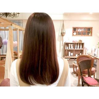 髪質改善 TOKIOトリートメント 透明感カラー ミニボブ ヘアスタイルや髪型の写真・画像