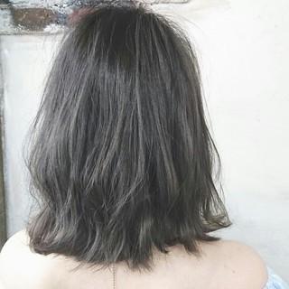 """ずっとおすすめのヘアカラー☆暗めの""""アッシュグレー""""がおしゃれ♡"""