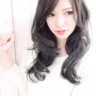 グラデーションカラー ナチュラル フェミニン 大人かわいい ヘアスタイルや髪型の写真・画像