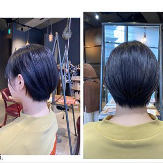 ショートヘア ショート 透明感 oggiotto ヘアスタイルや髪型の写真・画像