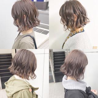 ヘアアレンジ オフィス デート ボブ ヘアスタイルや髪型の写真・画像 ヘアスタイルや髪型の写真・画像