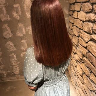 外国人風カラー ロング ナチュラル ヘアカラー ヘアスタイルや髪型の写真・画像