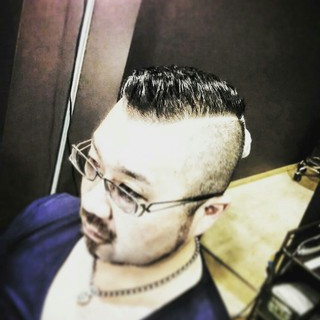 黒髪 刈り上げ メンズ ショート ヘアスタイルや髪型の写真・画像