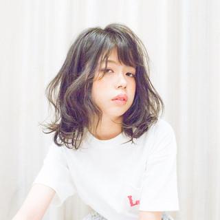 ゆるふわパーマ パーマ 毛先パーマ  ヘアスタイルや髪型の写真・画像