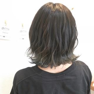 ヘアアレンジ 外国人風カラー ボブ ナチュラル ヘアスタイルや髪型の写真・画像 ヘアスタイルや髪型の写真・画像