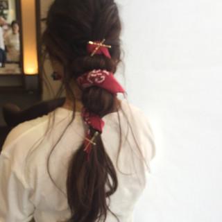 簡単ヘアアレンジ ロング 時短 ヘアアレンジ ヘアスタイルや髪型の写真・画像