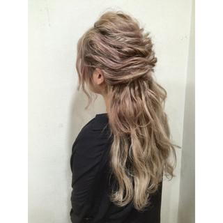 ロング 外国人風 渋谷系 大人かわいい ヘアスタイルや髪型の写真・画像