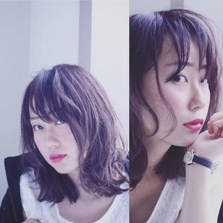 色気 ボブ ウェットヘア フェミニン ヘアスタイルや髪型の写真・画像