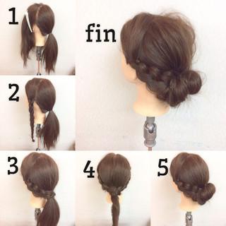 ショート 二次会 フェミニン セミロング ヘアスタイルや髪型の写真・画像 ヘアスタイルや髪型の写真・画像
