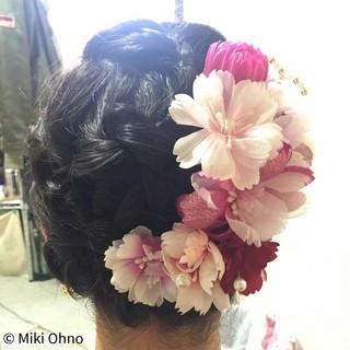 夏 お祭り ヘアアレンジ 花火大会 ヘアスタイルや髪型の写真・画像