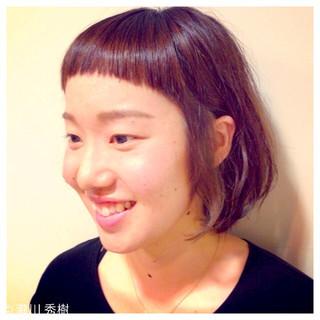 アッシュ こなれ感 色気 前髪あり ヘアスタイルや髪型の写真・画像