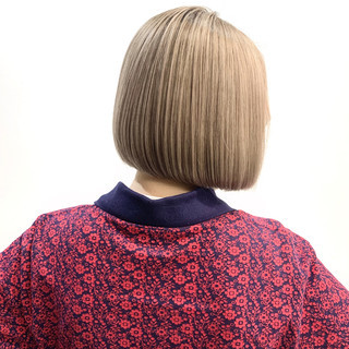 ベリーショート 切りっぱなしボブ ミニボブ ガーリー ヘアスタイルや髪型の写真・画像