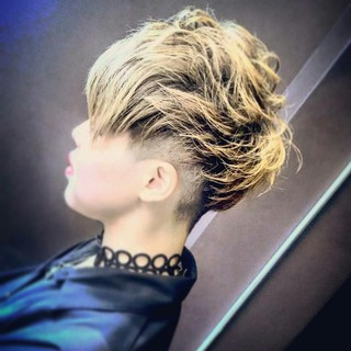 坊主 メンズ 刈り上げ パーマ ヘアスタイルや髪型の写真・画像 ヘアスタイルや髪型の写真・画像
