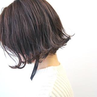 大人女子 外ハネ オフィス ボブ ヘアスタイルや髪型の写真・画像