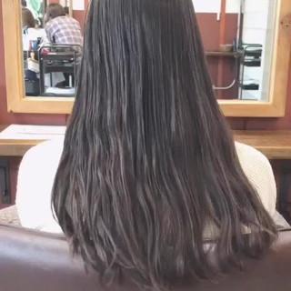 ボブ 切りっぱなしボブ ナチュラル 外ハネボブ ヘアスタイルや髪型の写真・画像