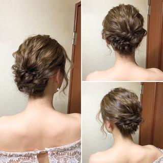 ヘアアレンジ 結婚式 エレガント アップスタイル ヘアスタイルや髪型の写真・画像 ヘアスタイルや髪型の写真・画像