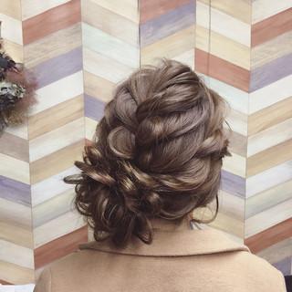 ロング アップスタイル ブライダル パーティ ヘアスタイルや髪型の写真・画像 ヘアスタイルや髪型の写真・画像