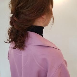 ナチュラル ショート ヘアアレンジ ダブルカラー ヘアスタイルや髪型の写真・画像