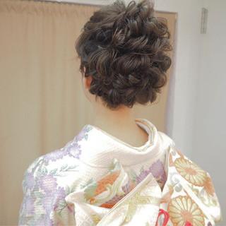 ヘアアレンジ 振袖 上品 謝恩会 ヘアスタイルや髪型の写真・画像 ヘアスタイルや髪型の写真・画像