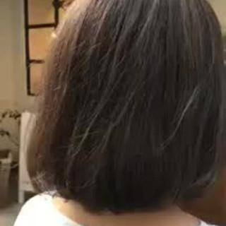 ナチュラル ハイライト ボブ 大人かわいい ヘアスタイルや髪型の写真・画像 ヘアスタイルや髪型の写真・画像