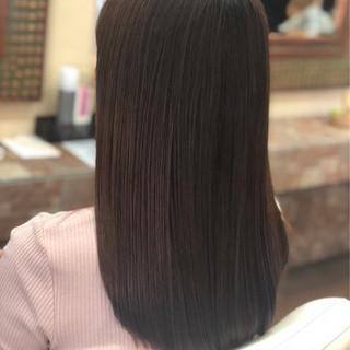 ナチュラル ロング トリートメント 艶髪 ヘアスタイルや髪型の写真・画像 ヘアスタイルや髪型の写真・画像