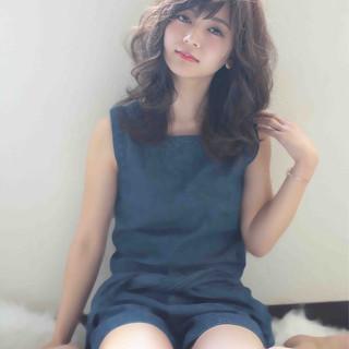 外国人風 アッシュ 大人かわいい ストリート ヘアスタイルや髪型の写真・画像