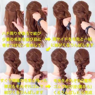 アウトドア フェミニン ショート ヘアアレンジ ヘアスタイルや髪型の写真・画像
