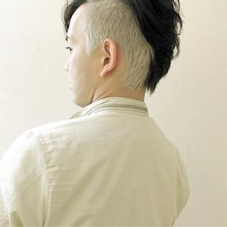 メンズ ショート 坊主 ダブルカラー ヘアスタイルや髪型の写真・画像