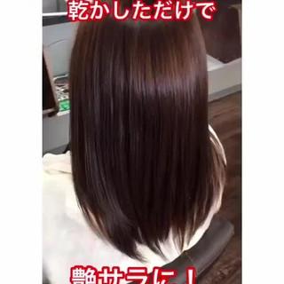 髪質改善カラー 縮毛矯正 髪質改善トリートメント 髪質改善 ヘアスタイルや髪型の写真・画像