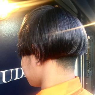 ダブルカラー ショート モード イルミナカラー ヘアスタイルや髪型の写真・画像