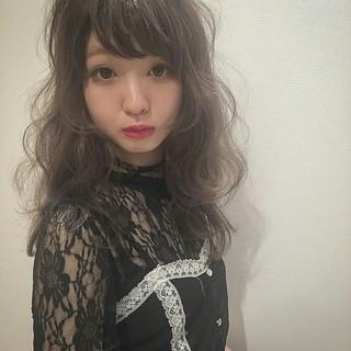 暗髪 ストリート 外国人風 アッシュ ヘアスタイルや髪型の写真・画像