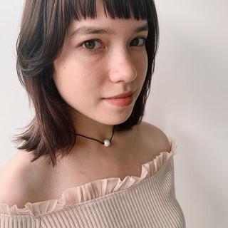 ミディアム アウトドア デート 簡単ヘアアレンジ ヘアスタイルや髪型の写真・画像