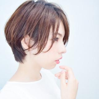 【素材コンシェルジュ型/ショートの極】川島佑一さんのヘアスナップ
