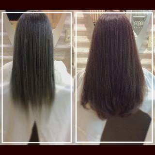 ナチュラル 大人ヘアスタイル 髪質改善 髪質改善カラー ヘアスタイルや髪型の写真・画像