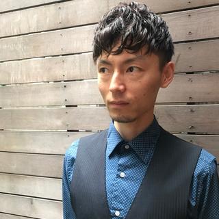 簡単ヘアアレンジ 坊主 モテ髪 無造作 ヘアスタイルや髪型の写真・画像