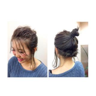 大人女子 ナチュラル ショート ヘアアクセ ヘアスタイルや髪型の写真・画像 ヘアスタイルや髪型の写真・画像