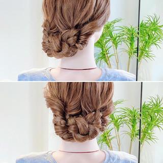 ヘアアレンジ ロング ヘアセット ロングヘア ヘアスタイルや髪型の写真・画像